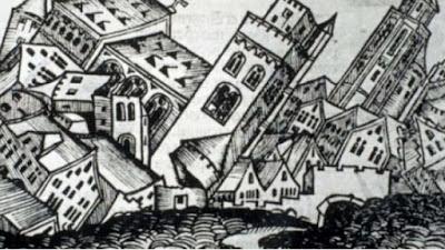 «…Εχάλασεν όλα τα σπίτια της χώρας και τα τζαμιά και τους μιναρέδες και επλακώθησαν και άνθρωποι έως 300…».
