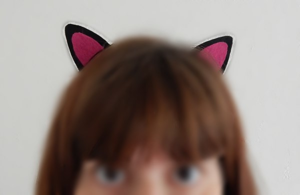 DIY : barrettes oreilles de chat