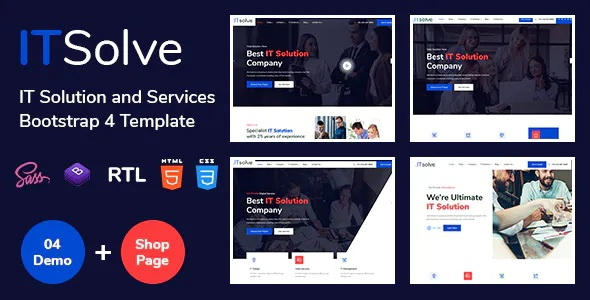 Best IT Solution and Services Template