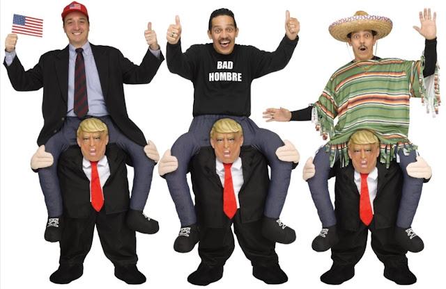 f065adeac1b696 ... zapowiedziach Trumpa, że jak wygra to doprowadzi do osądzenia Clinton,  trafiłam na tę cudowną ideę kostiumów Halloweenowych- dla jednych pomysł  zabawny, ...
