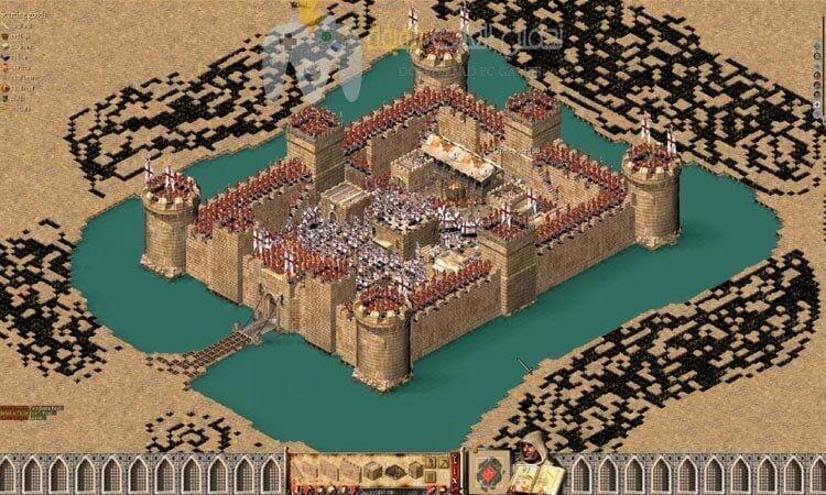 تحميل لعبة صلاح الدين 1 و 2 Stronghold Crusader برابط واحد