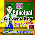 GSEB TAT Head Teacher (Principal) Exam 2014 Provisional  Answer key