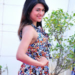 Shraddha Das Cute Stills  @ Mugguru Movie Logo Launch