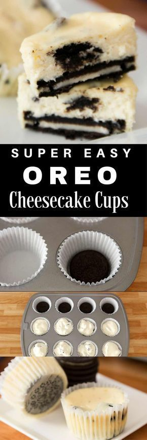 The Best Mini Oreo Cheesecake Cupcakes