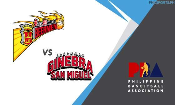 PBA: San Miguel Beermen vs. Barangay Ginebra San Miguel