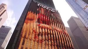 Coca-Cola exterior 3D