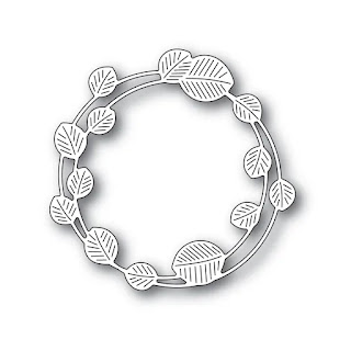 ETCHED EUCALYPTUS WREATH Die