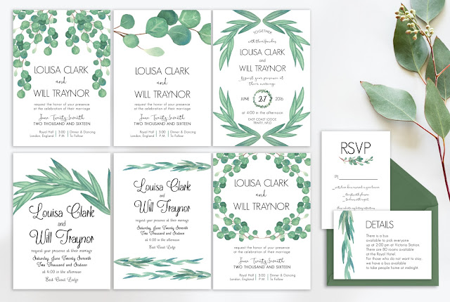 Wedding Invitations Package