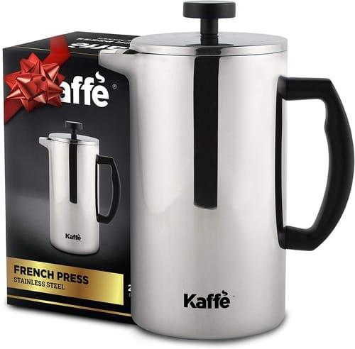 Kaffe KF1020 Double-Wall French Press Coffee Maker