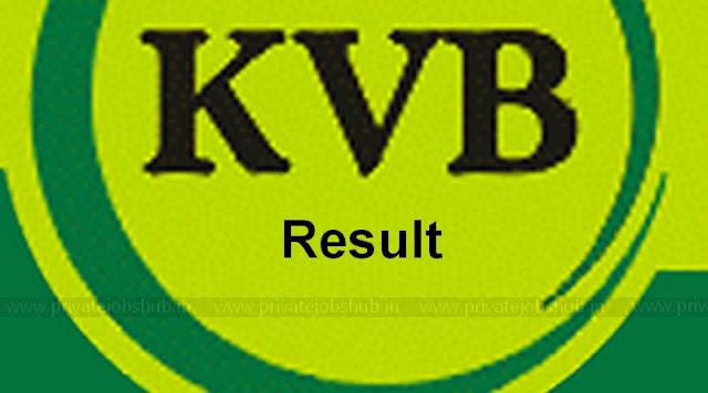 KVB Result