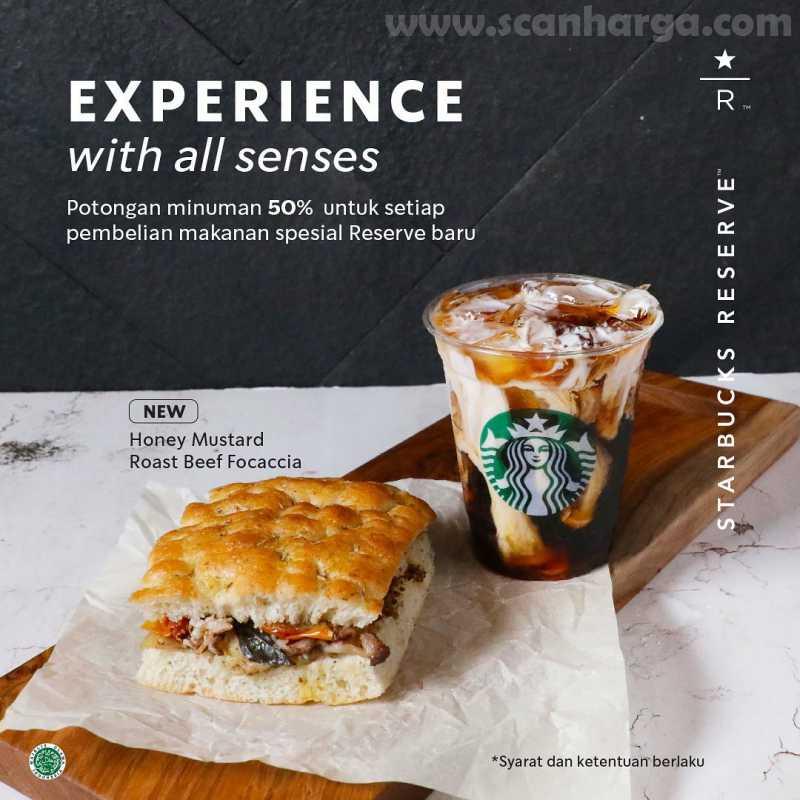 Promo Starbucks Reserve