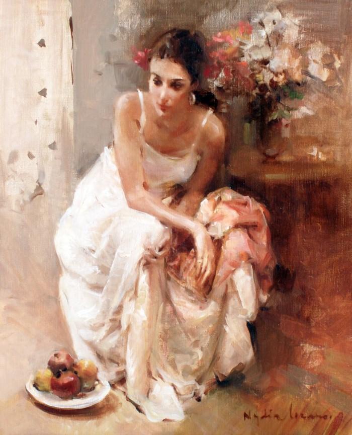 Масляная живопись. Nydia Lozano 9