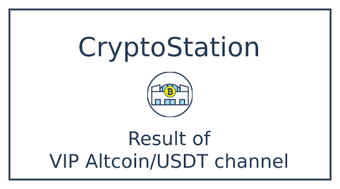Result of VIP Altcoin/USDT channel