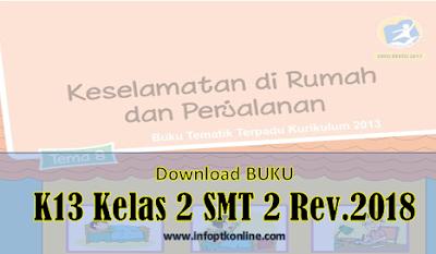 Download Buku Pelajaran Kelas 2 Kurikulum 2013 semester 2 Lengkap