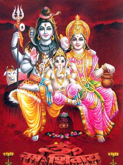 Lord Shiva Ganesh Images