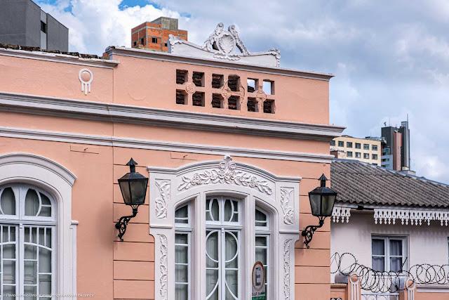 Casa Muzzillo, construída no início dos anos 1900 - detalhe