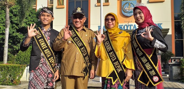 Walikota dan Elly Farida Jadi Ayah Bunda Genre