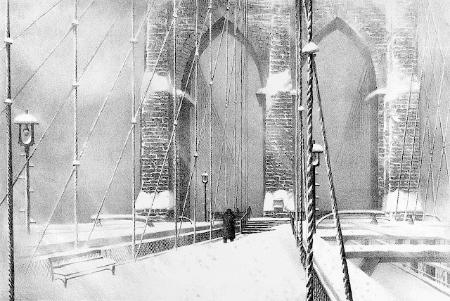 Stow Wengenroth winter bridge