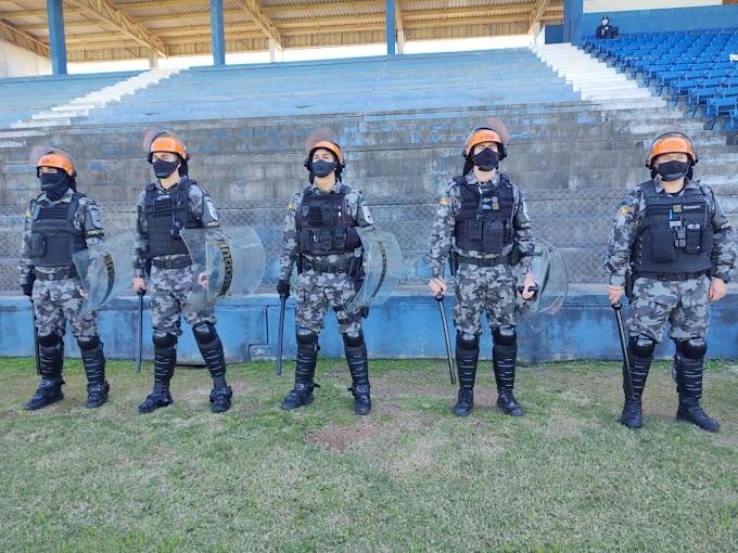 CACHOEIRINHA   Jogo do E.C. Cruzeiro x E.C. Igrejinha tem a atuação do efetivo do 26º BPM