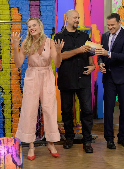 Margot Robbie at Univision's 'Despierta Americа