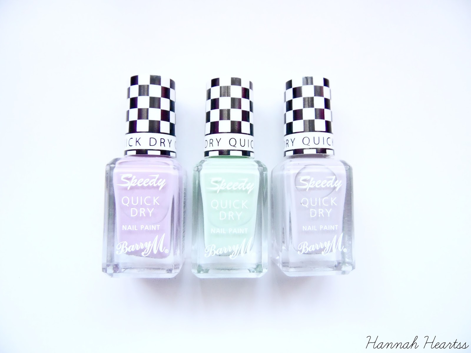 Barry M Speedy Quick Dry Nail Paints