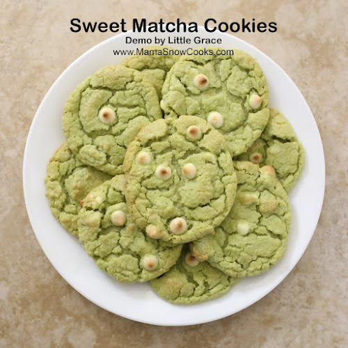 Mama snow cooks vietnamese sizzling crepe spring rolls goi cuon sweet matcha cookies recipe forumfinder Image collections