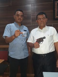 Bawa Senjata Api, Pengguna Narkoba Diamankan Polisi