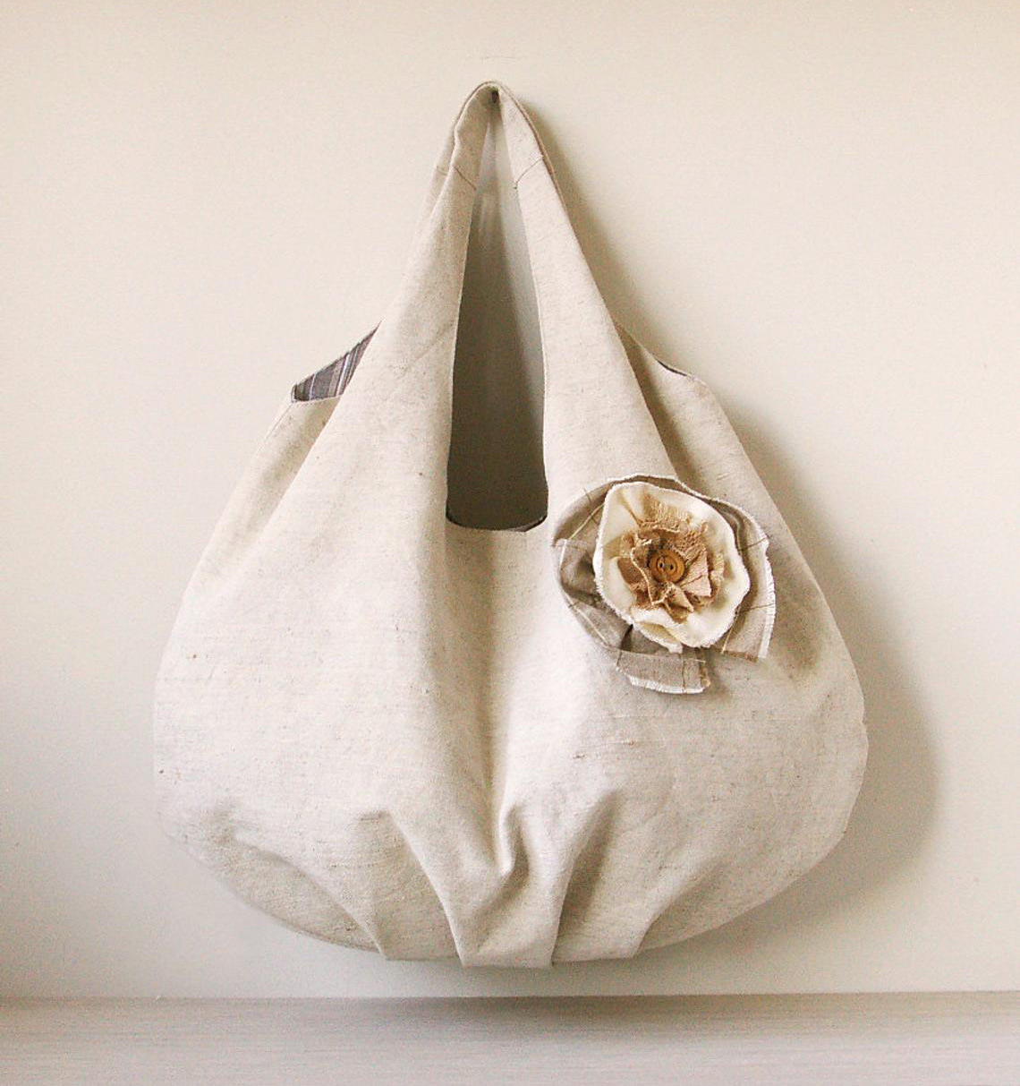 Hobo Shoulder Bag Tutorial & Pattern