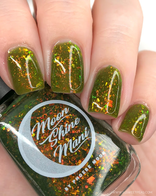 Moon Shine Mani I Wish I Could But I Don't Want To 25 Sweetpeas