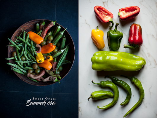 Sweet Grass Summer CSA Recap and My Food Photography of this Series Explained