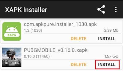 Cara Instal XAPK menggunakan XAPK Installer
