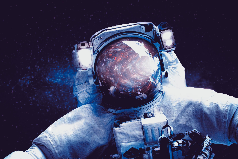 Astronaut, Milky Way, Space suit, HD, Space
