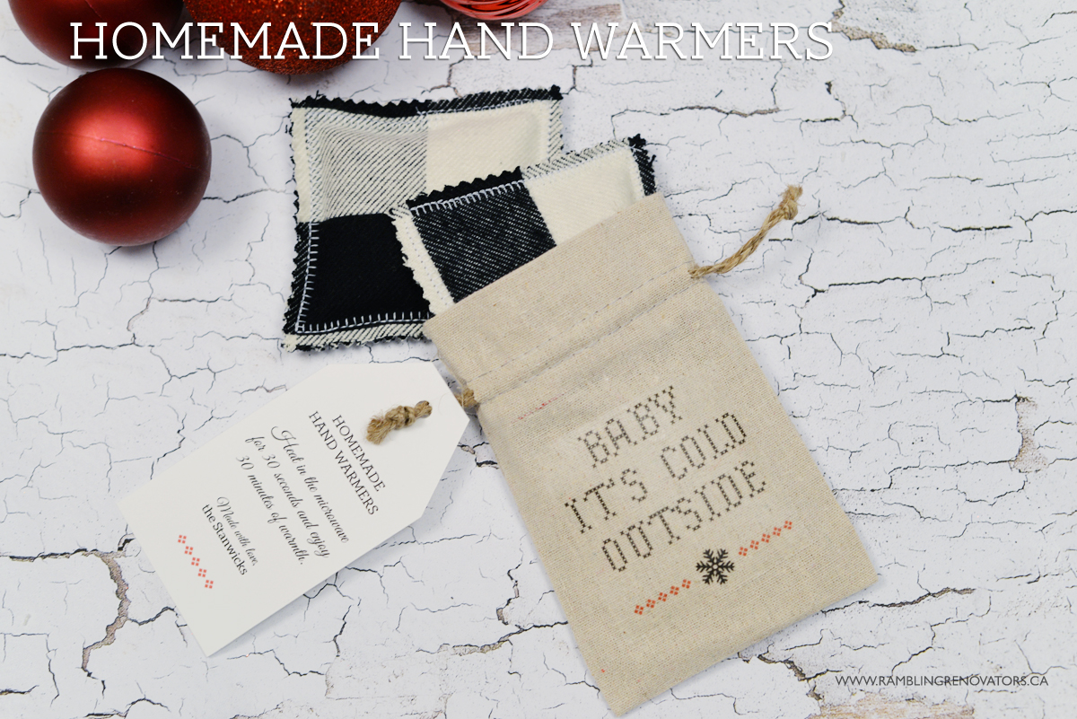 DIY Hand warmer, Hand Warmer gift with gift bag, DIY gift for teachers