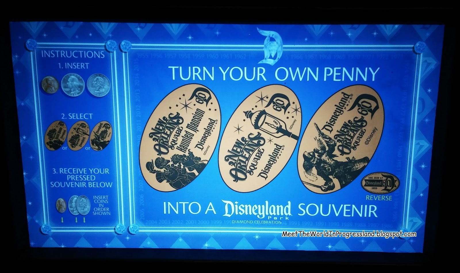 Meet The World: Pressed Pennies - Disneyland, Universal