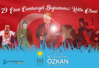 Ibrahim Ozkan | 29 Ekim Cumhuriyet Bayramı Animasyon