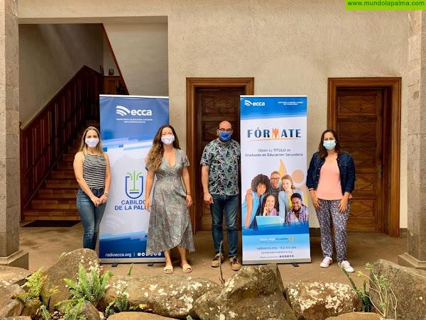 El Ayuntamiento de la Villa de Garafía refuerza la alianza con Radio ECCA a través del proyecto FÓRMATE