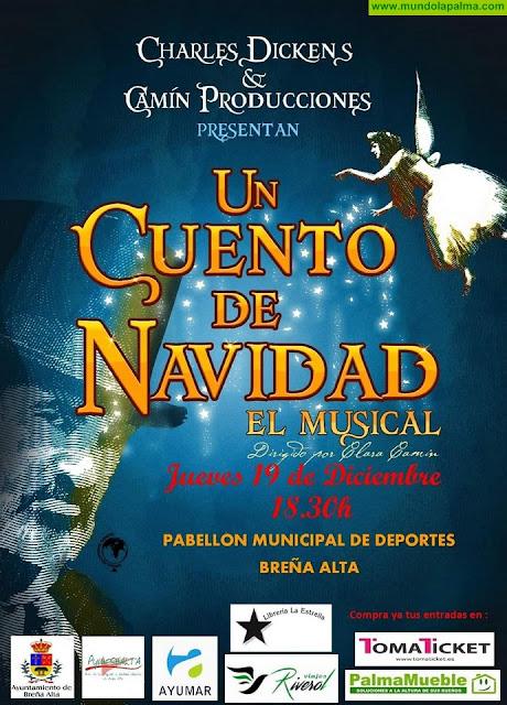 El maravilloso 'Cuento de Navidad' de Charles Dickens llega a Breña Alta en forma de Musical