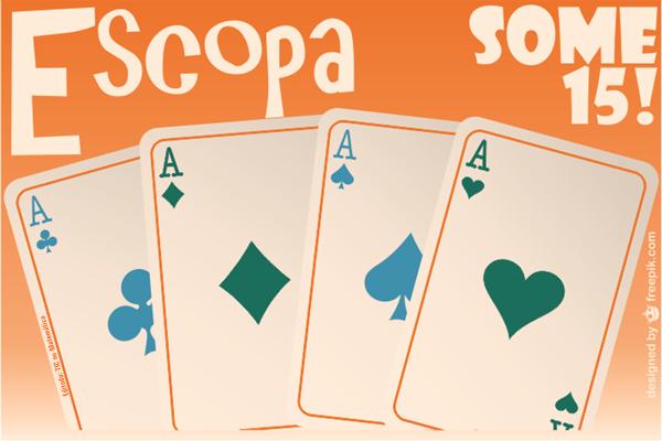 jogo de cartas escopa