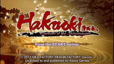 تحميل لعبة Hakuoki Warriors Of The Shinsengumi لأجهزة psp ومحاكي ppsspp