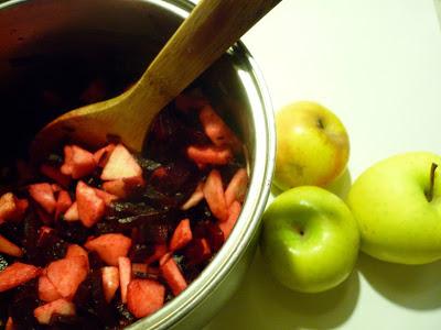 mermelada remolacha manzana