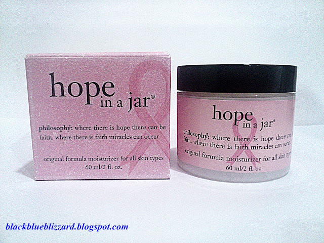 philosophy, hope in a jar, moisturizer, moisturiser, special edition