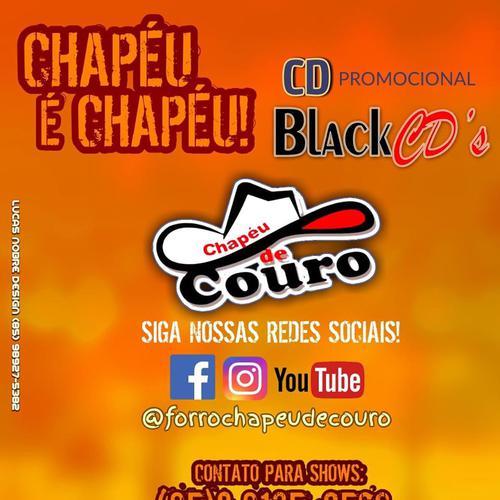 Chapéu de Couro - Promocional de Dezembro - 2019 - Especial pra Paredão - Black CDs