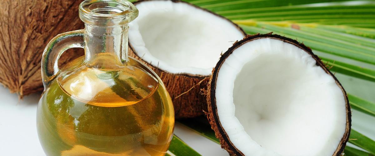 El aceite de coco para la piel