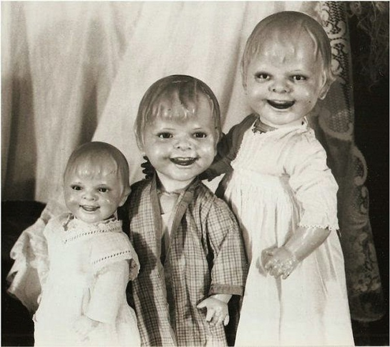 These Scary Vintage Dolls That Will Make Your Skin Crawl Vintage