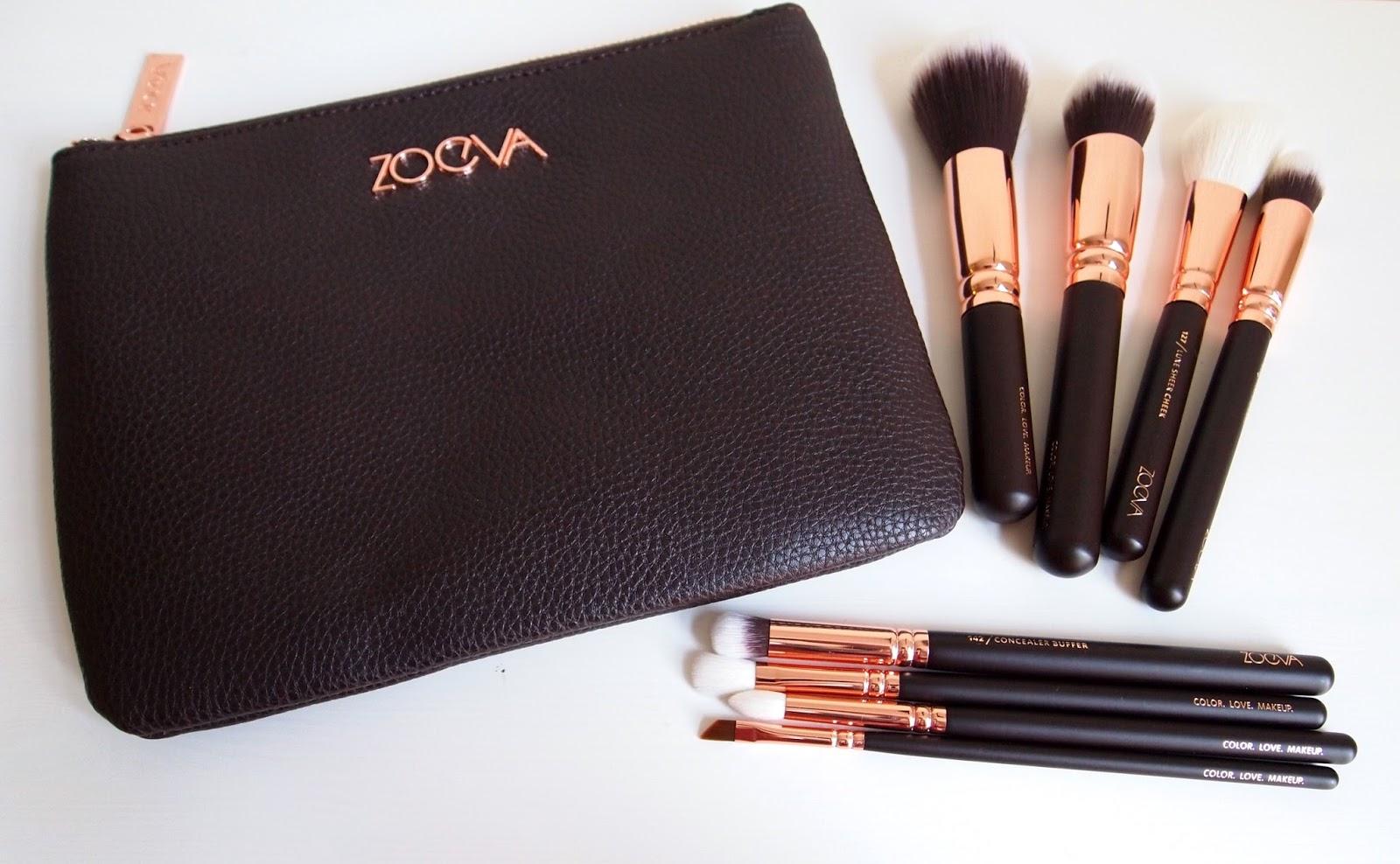 Zoeva Rose Gold Luxury Set