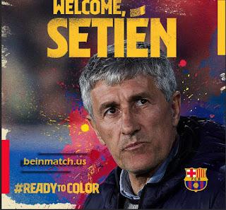 برشلونة يقيل فالفيردي ويعلن عن مدربه الجديد