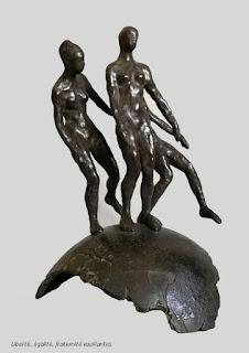 edith_lafay_sculpture_bronze_liberté_égalité_fraternité_vacillante