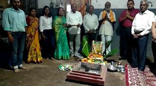 मां भगवती मंगल कार्यालय बोरगांव में लोकमाता अहिल्याबाई होल्कर की 293वीं जयंती मनाई