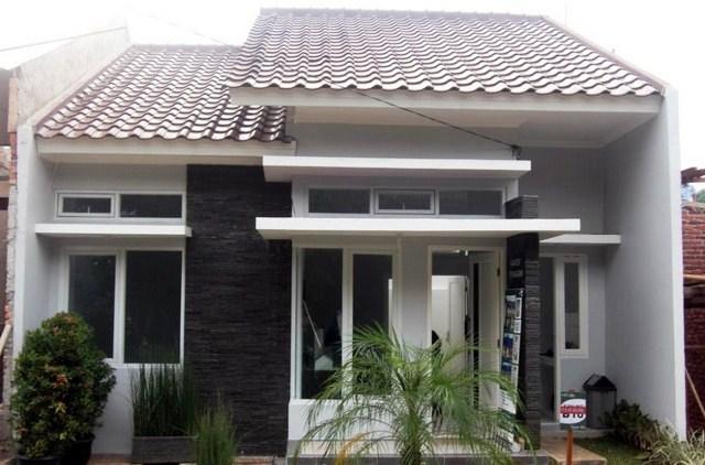 Model dan Gambar Rumah Minimalis Satu Lantai Tampak Depan Dengan Warna Cat Pilihan