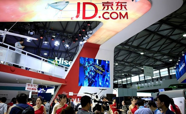 jd.com china business new profitable quarter chinese retail growth